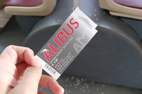 カターニア空港からカターニア市内へ移動するには【ALIBUS】