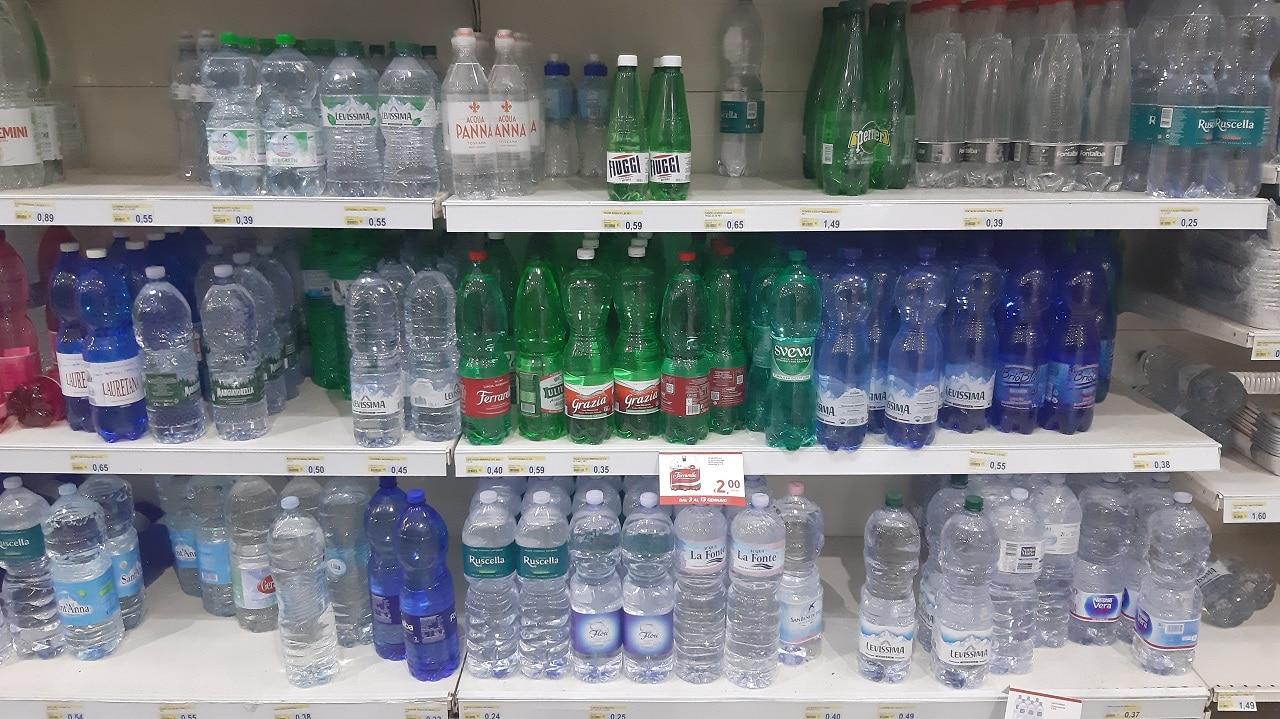 シチリアで軟水が飲みたいときは