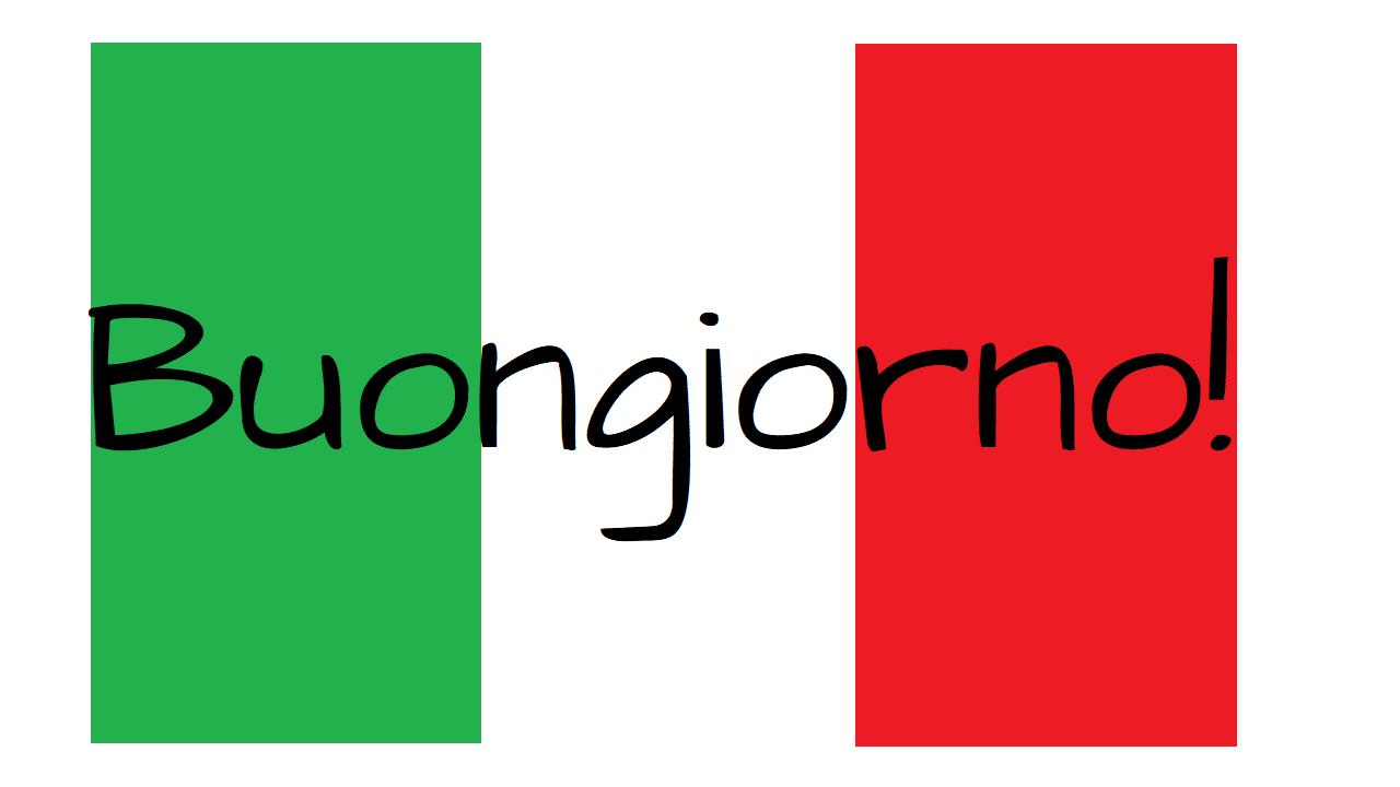 イタリア語のあいさつ ~ 旅するイタリア語!